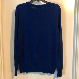 Joe Fresh Tops - Joe Fresh Women's Navy Blue Knitted Crewneck